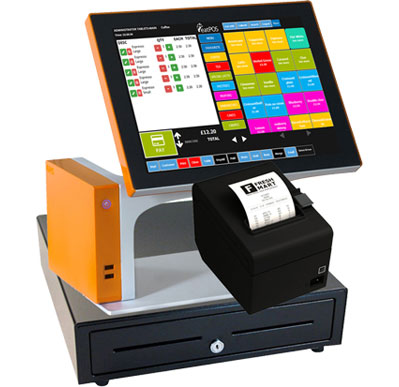 sango epos pos with printer and drawer