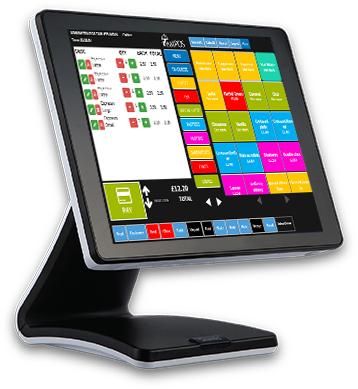 takeaway pos epos sam4s epos system software touchscreen